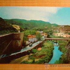 Postales: POSTAL LA RIBA (TARRAGONA) VISTA GENERAL CIRCULADA . Lote 8560756