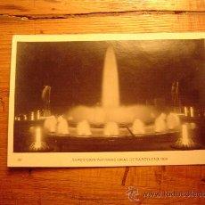Postales: EXPOSICION INTERNACIONAL BARCELONA 1929. Lote 8566555