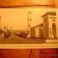 Postales: EXPOSICION INTERNACIONAL BARCELONA 1929. Lote 8566582