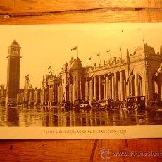 Postales: EXPOSICION INTERNACIONAL BARCELONA 1929. Lote 8566656
