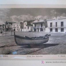 Postales: POSTAL EL VENDRELL (TARRAGONA) PLAYA SAN SALVADOR. Lote 39467868