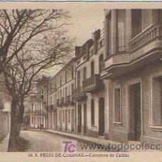 Postales: SANT FELIU DE CODINES. CARRETERA DE CALDAS. . Lote 8658921