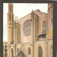 Postales: BARCELONA. SANTA MARIA DEL MAR.11. SAMSOT Y MISSÉ HS. SIN DIVIDIR. Lote 27353846