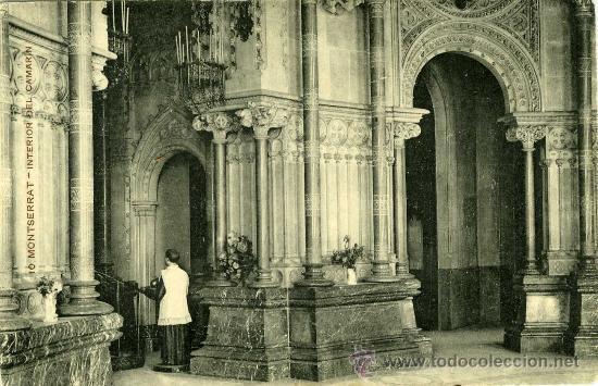 LOTE 6 POSTALES MONTSERRAT (Postales - España - Cataluña Antigua (hasta 1939))
