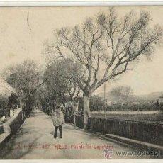 Postales: (PS-6569)POSTAL DE REUS(TARRAGONA)-PUENTE DE CAPELLANS-CIRCULADA. Lote 8876333