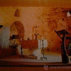 Postales: POSTAL SANTUARI DE LA FONT - SANTA CASTELL DE SUBIRATS ESGLESIA SIN CIRCULAR. Lote 8908900