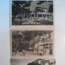 Postales: LOTE 3 POSTALES CALDETAS (FIESTA, ALREDEDORES,DETALLE). Lote 8909689