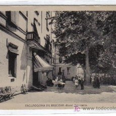 Postales: VALLFOGONA DE RIUCORP - HOTEL BALNEARIO. Lote 26729385