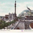 Postales: BARCELONA. MONUMENTO A COLON. NO CIRCULADA, NO DIVIDIDA.. Lote 17284719