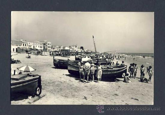 POSTAL DE CALAFELL: PLATJA (ED.RAYMOND NUM.11) (Postales - España - Cataluña Antigua (hasta 1939))
