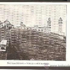 Postales: BARCELONA. TIBIDABO. VISTA GENERAL DE LA CÚSPIDE. (FUNICULAR). Lote 27278380