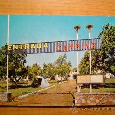 Cartes Postales: POSTAL CAMPING GASET EN EL PIRINEO DE LERIDA TREMP SIN CIRCULAR. Lote 9092690