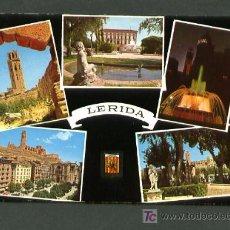Postales: LLEIDA. SEGRIA. EDC. ESCUDO DE ORO Nº 675. DORSO TIPO Nº 3. CIRCULADA 1965. Lote 9168392