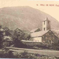 Postales: VALL DE BOHI Nº18 ESGLESIA DE BOHI. Lote 9234799