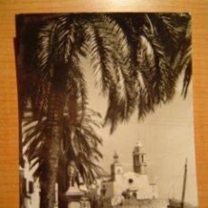 Postales: POSTAL SITGES PASEO DE RIBERA CIRCULADA. Lote 9274163