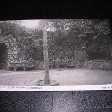 Postales: ARGENTONA - MANANTIAL BURRIACH, FOTO A. GÜELL. Lote 9463518