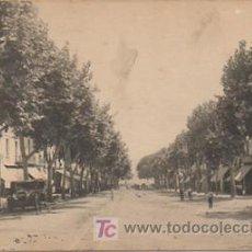 Postales: ARENYS DE MAR. RAMBLA DOCTOR POL. (L. ROISIN. ED. JOSE BRAS TAXONERA). . Lote 9473434