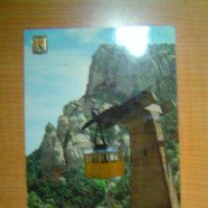 Postales: POSTAL MONTSERRAT AERI DE MONTSERRAT CIRCULADA . Lote 9608263