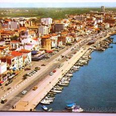 Postales: CAMBRILS, PUERTO. VISTA AÉREA // TARRAGONA.. Lote 9617009