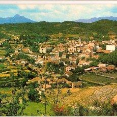 Postales: POSTAL A COLOR SANT HILARI SACALM VISTA GENERAL CIRCULADA 1969. Lote 9618719