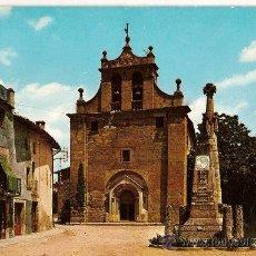 Postales: POSTAL A COLOR Nº 2187 FOLGUEROLES ALT 552M ESGLESIA ROMANICA SANTA MARIA. Lote 9618768