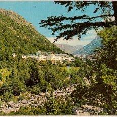 Postales: POSTAL A COLOR PIRINEU CATALA VALL DE BOHI Nº 3 CALDAS DE BOHI HOTEL BALNEARI MANANTIAL . Lote 9618834