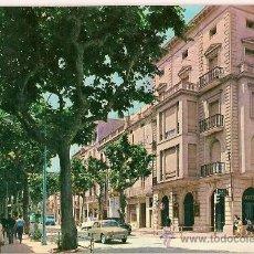Postales: ANTIGUA POSTAL Nº 1 IGUALADA RAMBLA CIRCULADA 1965. Lote 9626734