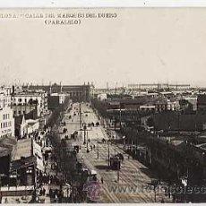 Postales: BARCELONA CALLE DEL MARQUES DEL DUERO. ( PARALELO ) EDICIONES LB 2 POSTAL FOTOGRAFICA SIN CIRCULAR. Lote 13004620