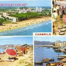 Postales: CAMBRILS (TARRAGONA). Lote 1099032