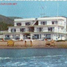 Postales: POSTAL DE RESIDENCIA VILLA FONTANA PLAYA DE CASTELLDEFELS BARCELONA SERIE D Nº 762 . Lote 1964015