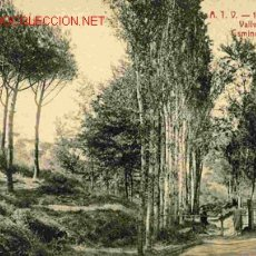 Postales: BARCELONA , VALLVIDRERA , CAMINO DE LA IGLESIA. Lote 18111678
