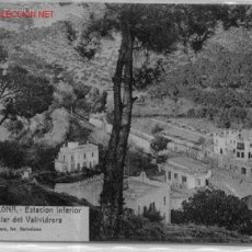 Postales: 7-1A182. BARCELONA. FUNICULAR DE VALLVIDRERA. Lote 15364916