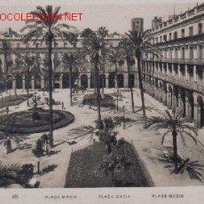 Postales: BARCELONA - PLAZA DE MACIA.-. Lote 16448792