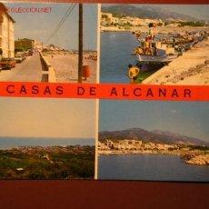Postales: CASAS DE ALCANAR (TARRAGONA). Lote 2297980