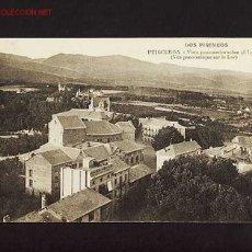 Postales: POSTAL DE PUIGCERDA (GIRONA): VISTA PANORÀMICA SOBRE EL LLAC. Lote 2376922