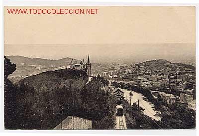 BARCELONA. TIBIDABO. FUNICULAR (Postales - España - Cataluña Antigua (hasta 1939))