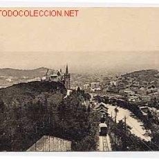 Postales: BARCELONA. TIBIDABO. FUNICULAR. Lote 2426405