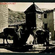 Postales: CASTELLAR DE N´HUG. BERGUEDA. ANTIGUA FUENTE. SIN CIRCULAR.. Lote 2426850