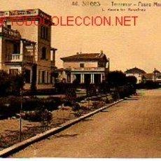 Postales: MUY BUENA POSTAL DE SITGES. Lote 9745162