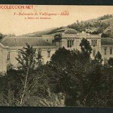 Postales: VALLFOGONA DE RIUCORB *BALNEARIO. HOTEL* ED. ROISIN Nº 3. CIRCULADA 1919.. Lote 2625226