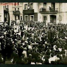 Postales: LLORET DE MAR. FOTO 90 X 137 MMS. CIRCULADA JULIO 1916.. Lote 2766793