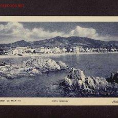 Postales: POSTAL DE LLORET DE MAR (GIRONA): VISTA GENERAL (ZERKOWITZ NUM.14). Lote 3004794