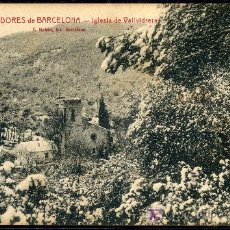 Postales: TARJETA POSTAL DE VALLVIDRERA, BARCELONA. Lote 9789034