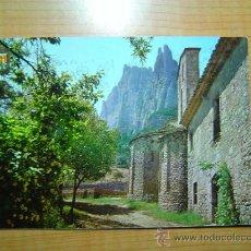 Postales: POSTAL MONTSERRAT SANTA CECILIA ABSIDES ROMANICA CIRCULADA. Lote 9828238