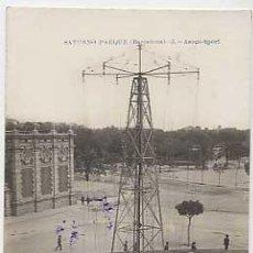 Postales: BARCELONA. SATURNO PARQUE. AEREO SPORT. ED INDUSTRIAL FOTOGRAFICA. SUCESOR DE A. FABERT. CIRCULADA. Lote 18561936