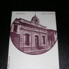 Postales: PALAFRUGELL - CAJA DE AHORROS - JOANOLA - PALAFRUGELL. Lote 9888468