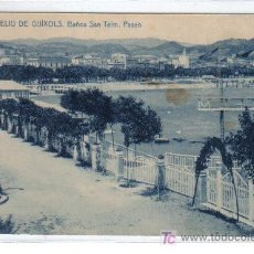 Postales: 9.- SAN FELIU DE GUIXOLS - BAÑOS SAN TEM. PASEO - FOTOTIPIA THOMAS - BARCELONA. Lote 27546202