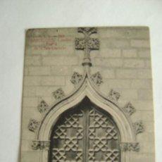 Postales: BARCELONA.CATEDRAL.PUERTA DE LA SALA CAPITULAR 10017. Lote 24075502