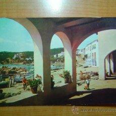 Postales: POSTAL CALELLA DE PALAFRUGELL COSTA BRAVA VISTA PARCIAL SIN CIRCULAR. Lote 9976929