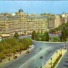 Postcards - BARCELONA - PASEO CALVO SOTELO Y AVDA. GENERALISIMO - ZERKOWITZ 1962 - 10019620